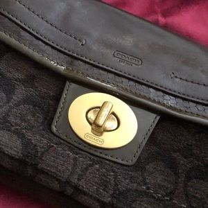 Coach authentic limited edition clutch